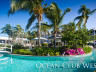 Ocean Club West garden and pool