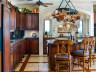 Custom kitchen - Thompson Cove beachfront villa