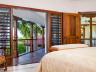 Master bedroom opens to balcony - Thompson Cove villa