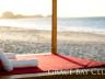 Beach bed at Grace Bay Club