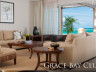 Living Room at Grace Bay Club