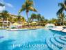 Pool views at the resort
