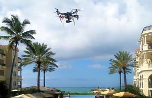 Aerial video of Stargazer Villa