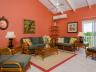 Mandalay Island House chalk sound Providenciales living room