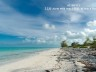 Long Bay-pristine beachfront- estate building lot - turks and caicos-for sale-view of beachfrontage labe
