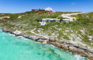 la sirene-oceanfront-turks-caicos-villa-for-sale-view of-property-path-to-ocean