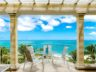 Beachfront Grace Bay Beach luxury 2 bedroom condo view