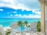 Beachfront Grace Bay Beach luxury 2 bedroom condo view balcony
