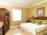 Beachfront Grace Bay Beach luxury 2 bedroom condo hallway master suite
