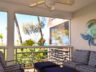 Grace Bay Beachfront Condo, Ocean Club West balcony