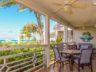 Grace Bay Beachfront Condo, Ocean Club West beachfront porch
