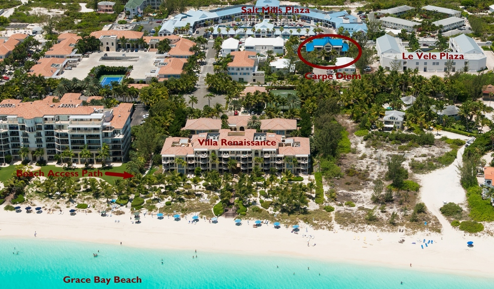 Carpe Diem Location  Grace Bay  Turks And Caicos Islands