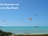 Living in Long Bay, Turks and Caicos Islands kite boarders