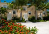 Home for sale in Turks and Caicos, Grace Bay Townhomes front entrance