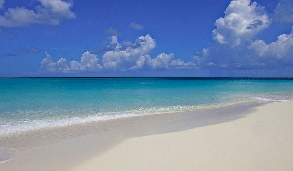 Grace Bay Turks Caicos Beach Turquoise Water White Sand